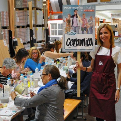 "Workshop SIO-2 at ""Women's Night"" BAUHAUS Madrid"